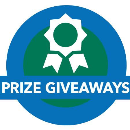 Prize giveaways