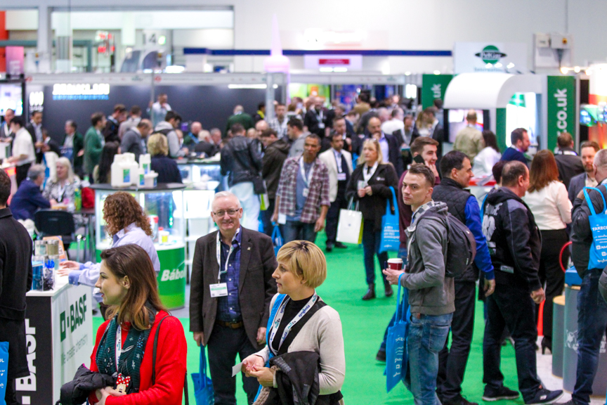 Hall N7 was packed full of pest management professionals at PestEx 2019