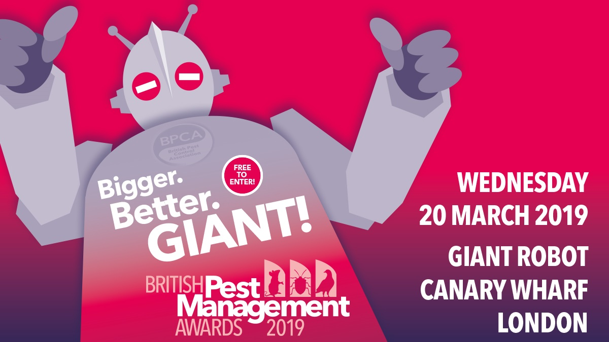 British Pest Management Awards 2019 - Giant Robot